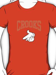 hip hop shoot crooks T-Shirt