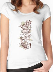 Escape from Reality Women's Fitted Scoop T-Shirt