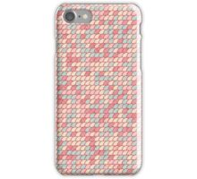 Abstract circles tile pattern iPhone Case/Skin