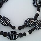 Zebra Beads III by Erica Long