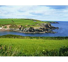 Green and blue, Ireland Photographic Print