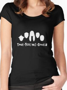 The Young Ones - Dark Colours Women's Fitted Scoop T-Shirt