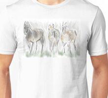 Running Horses Unisex T-Shirt