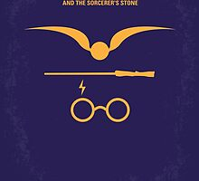 No101 My Harry Potter minimal movie poster by JiLong