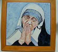 Mother Teresa by ilciliegio