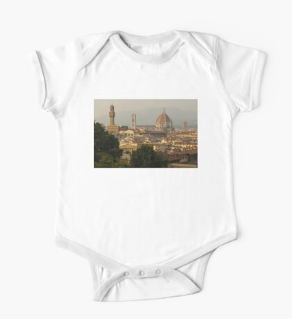 Hot Summer Afternoon in Florence, Italy One Piece - Short Sleeve
