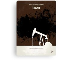 No102 My GIANT minimal movie poster Canvas Print