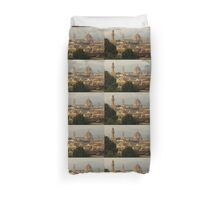 Hot Summer Afternoon in Florence, Italy Duvet Cover