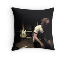 pre-gig light - clap your hands say yeah! the Zoo, Brisbane Throw Pillow