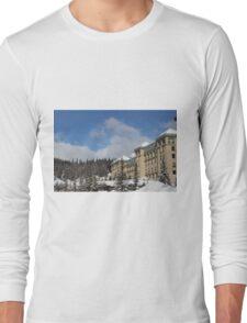Lake Louise Chateau  Long Sleeve T-Shirt