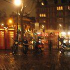 Rainy evening London by MarkJeremy