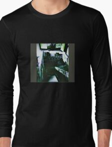 Last days of Skinny's Record Basement Xpro Holga Brisbane Long Sleeve T-Shirt
