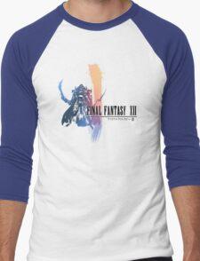 Final Fantasy XII Logo (New) Men's Baseball ¾ T-Shirt