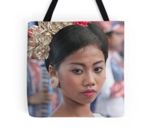 Marching Girl Tote Bag