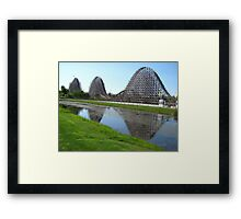 Shivering Timbers, Michigans Adventure Framed Print
