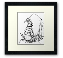 The Iron Dragon Framed Print