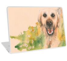 Conferring with the flowers Laptop Skin