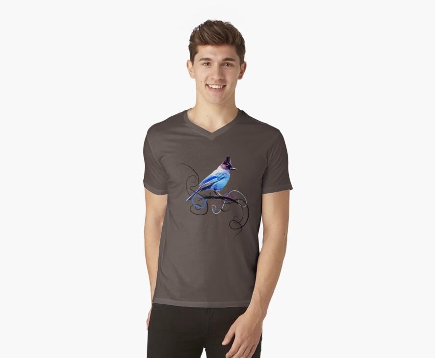 a blue bird by smwdesign