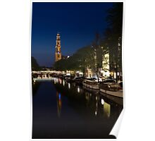 Amsterdam Blue Hour Poster