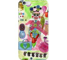 'I live in a painful planet' iPhone Case/Skin