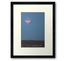 Moonrise Framed Print