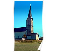 The village church of Schwarzenberg 4 | architectural photography Poster