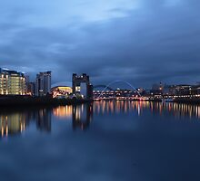 Tyne at Night by Paul Clayton