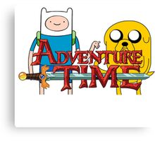 Adventure Time, Jake and Fin Canvas Print