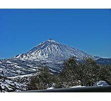 Winter on Teide Photographic Print