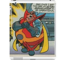 Doctor Comic Robotnik iPad Case/Skin