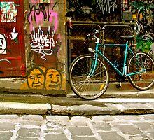Melbourne Graffiti - Hosier Lane by Louise Fahy