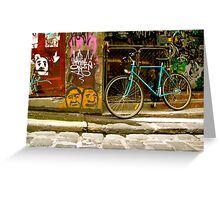 Melbourne Graffiti - Hosier Lane Greeting Card