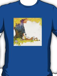 cute sleeping calvin hobbes T-Shirt