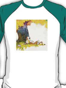 cute sleeping calvin hobbes T-Shirt