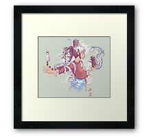 Perspective of Chihiro by Harantula Framed Print