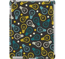 Lightbulb Idea Pattern iPad Case/Skin