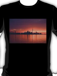 Bright and Orange Toronto Sunrise T-Shirt