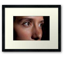 Pierce Framed Print