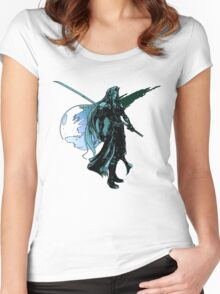 Sephiroth Final Fantasy VII Masamune  Women's Fitted Scoop T-Shirt