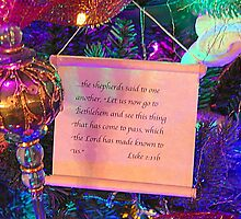 And the shepherds said by Karen Cook