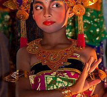 Balinese Dancer 5 by Werner Padarin