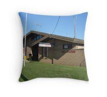 Batemans Bay 217 Fire Station  Throw Pillow