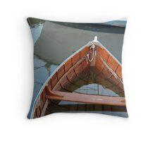 That Sinking Feeling - Tamar River Throw Pillow