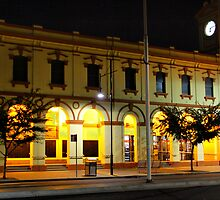 Albury at Night. 5 by John Vandeven