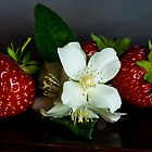 Jasmine with strawberries by Andrea Rapisarda