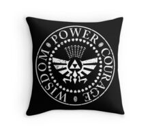 A Link to the Punk Throw Pillow