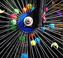 Bike wheel by Christopher Biggs
