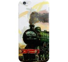 The West Riding Pullman in the early 1900s iPhone Case/Skin