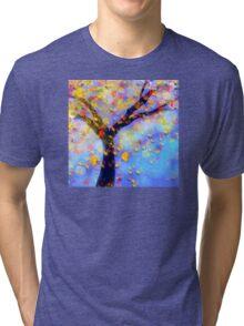 Falling Leaves  Tri-blend T-Shirt