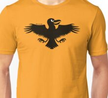 Halloween Naughty Crow Unisex T-Shirt